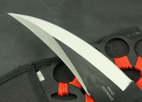 Wholesale Handmade All Steel Rope Handle Sharp Jungle Survival Fixed Hunting Knife VTH20