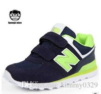 Wholesale TOP colors new shoes balancing new shoes balancing sneaker brand Kids Childrens sneakers for boy and girls