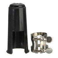 Wholesale 2015 New Bb Clarinet Mouthpiece Nickel Ligature with Cap High Quality Price