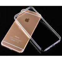 apple pudding - For iphone6 plus Case Pudding Style Soft Clear transparent Soft TPU Gel Back Case With Dust Plug Cover For Apple iPhone quot