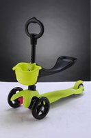 Wholesale 3 in Special Edition Scooter with adjustable Seat and O Bar Micro mini kids kick scooter baby Walker ages