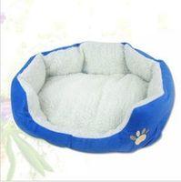 Wholesale New cat dog kennel pet house warm sponge bed cushion basket