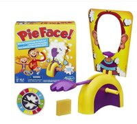 Wholesale Running Man Pie Face Board Games Pie Face Cream On Her Face Hit The Send Machine Paternity Toy