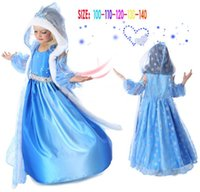 Wholesale Xams Princess Character Costume dress shawl Christening Birthday Party christmas dresses Cosplay For kids