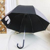 golf umbrella - New Fashion Umbrella Rain Ribs Pagoda Parasol Long handle Umbrella Windproof Rainy Umbrella Black KT0125 Kevinstyle