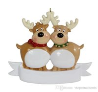 personalized ornaments - Personalized Ornaments the Reindeer Family of