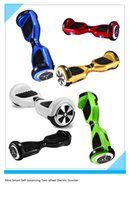 electric motors - UPS free to USA Two wheel Scooter Unicycle mah Battery self balance electric Scooters Balancing Motor Skateboard
