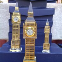 Wholesale Housing model of crystal Big Ben London Olympic tourist souvenirs cm