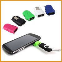 android tablet options - Multi Color Option Robot Shape Android Micro USB To USB Converter OTG Adapter For Android Tablet PC Phone With Retail Packaging