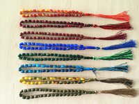 muslim prayer cap - Hot Islamic Prayer Beads Synthetic Quartz Beads Muslim Tasbih Allah Prayer Rosary Approx mm with Colors Drop Shipping