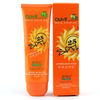 Wholesale New Sunscreen Cream SPF25 Lsolation UV Sunblock Body Sunscreen Concealer Lasting sunblock lotion NO