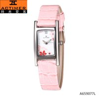 actimer watches - Actimer love time off brand color flower stone trapping Ladies leather waterproof watch quartz female watch authentic