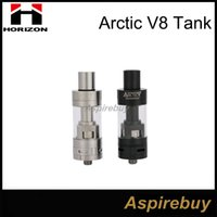 Horizon d'origine Arctic V8 Sous ohms Kit Tank Arctique atomiseur Horizon Arctique V8 4 ml VS ASPIRE Triton V2 Herakles plus Arctique Turbo Réservoir
