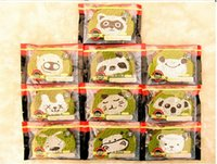 animal tea - New Original Green Tea Cartoon Animal Toast Squishies Cell Phone Strap Charm