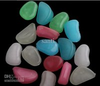 Wholesale Light weight Decoration Luminous Pebble Stone gift
