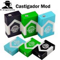 <b>Castigador Box Mod</b> Castigador Mods mécanique Interrupteur double 18650 batterie faible chute de tension 510 fil à faible chute de tension Sigelei 150W TC 0207523