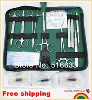 medical packaging - SG POST Surgical sewing bag surgical suture package kits set including medical scissors forceps needle holder A5