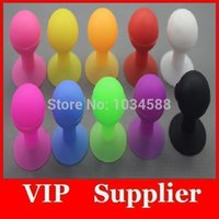 ball plungers - Free DHL shipping Rubber Octopus Sucker Ball Mobile Phone Holders and Stands Plunger Sucker Stand Holder For iPhone