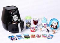Wholesale Free ship new D Mini Sublimation Vacuum Heat Transfer Press Printer Machine ST1520 Option4 CE