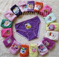 Wholesale Kids Frozen briefs Mickey underwear cartoon Snow White Brief Girl boxers Princess Underpants shorts Cute Panties Baby Clothing Pants A68