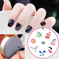 Wholesale Retail kinds silica gel diameter47mm Thickness14mm nail Stamp Stamping Image Konad Plate Printing Nail Art Template D DIY