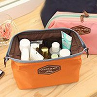 Wholesale Whoesale Makeup Bags Storage Cute Cosmetic Bag Zipper Closure Large Capacity Toiletry Cotton Wash Pouch Women Tote ZD0007 salebags