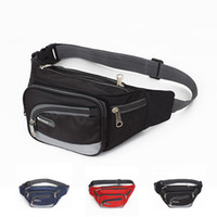 Wholesale New Fashion Canvas Waist Pack Multifunctional Outdoor Sports Portable Waist Bag Casual Waist Packs For Men And Women ZA0171