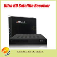 Caixa original Az Ultra HD com JB200 QPSK módulo WiFi dongle dentro, receptor HD por satélite para Sourth-America