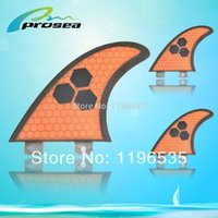 Wholesale New arrival Prosea FCS JW surfboard fins with fiberglass honey comb material