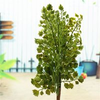 gingko biloba - Brand New Top Quality Gingko Biloba Fake Artificial Plant Leave Foliage Home Garden Party Office Decor order lt no track