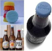 Wholesale 6Pcs In Fresh Beer Bottle Cap Silicone Wine Saver Bottle Cap Candy Color Spice Jar Cover