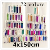 acrylic gel transfer - New arrival Styles Colorful Nail Art Transfer Foils Sticker Free Adhesive Acrylic Gel Tips with bottle
