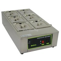 Wholesale Stainless Steel Lattice Chocolate Melting Machine Top Quality Max Melt KG Chocolate