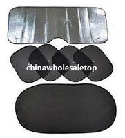 Wholesale New Front Rear Car Window Sun Shade Car Windshield Visor Cover Block Foldable one set