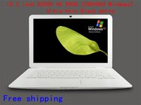 Wholesale 13 inch laptop brand new Ultra slim laptop G RAM G HDD Windows WIFI Dual core D2500 ghz Webcam best ultrabook laptop N131F