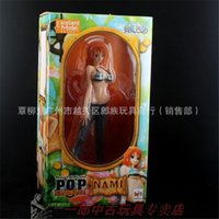 Wholesale J G Chen Anime quot One Piece P O P POP Nami After Years Sexy Boxed PVC Action Figure Collection Model Toy Gift