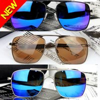 promotion sunglasses - Hot Men s Sunglasses Cycling Sunglasses Deviation Polarized Colors Blue Red Black Tea Lens Promotion