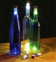 Wholesale Best sale LED Bottle Light Cork Shaped Rechargeable USB Bottle Light LED Turn Bottle in Night LAMP Cork Plug Wine Bottle Atmosphere Light