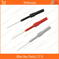 Wholesale 3 DIY mm back probe mm Test probe Adaptor with mm socket for car circuit test VAC VDC Max A