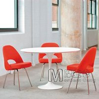 executive chair - Executive Side Chair Eero Saarinen dining chairs upholstered sofa chair hotel