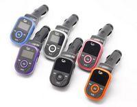 Wholesale 2015 Car MP3 Player FM Transmitter Modulator with Remote Control TF Card USB Disk SD Slot V Enjoy Speaker Music Players Universal Car