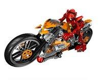 Wholesale Decool Hero Factory Star Soldier Action Figure Furno Bike Plastic Building Blocks Original Packing