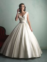 band empire - 2015 Plus Size Empire Wedding Dresses Ivory Wedding Gowns Capped Sleeveless Ball Gown Bridal Dress Band Crystal Ruffle Stain
