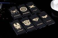 apple batman - The avenger case black pc Super Hero ironman Batman Superman Caption America X man