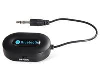 Wholesale Fashion Hot Brand New BM E9 Mini Bluetooth V3 Wireless Music Audio Receiver Stereo Audio System Music Bluetooth Adapter m Black D5237A