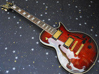 Wholesale New highest quality nice jazz custom mahogany body Electric Guitar in stock