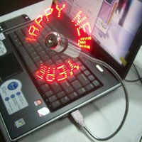 Wholesale Hot Mini Flexible Gooseneck USB LED Temperature Fan for PC Notebook Laptop BL
