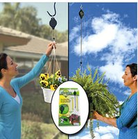 Wholesale Easy Reach Plant Pulley Plant Hanger garden hook Hold up to lbs