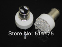 Wholesale 5X Super Bright White LED Turn Tail Parking Corner Signal Stop Light Bulb Lamp order lt no track