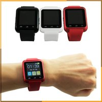 Cheap Bluetooth Smart Watch U80 wrist watch sport for iPhone 4 4S 5 5S Samsung S4 Note 2 Note 3 HTC Android Phone